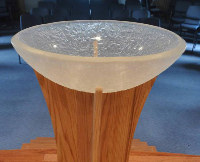 cast chunky clear baptismal font  u00bb george c scott